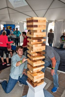 sbf-giant-jenga in the guiness social lounge